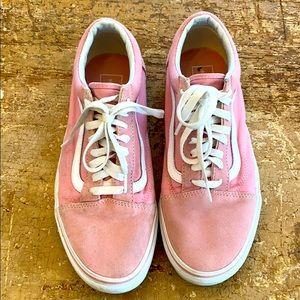 Vans Pink Old Skool Sneakers M8.5/W10